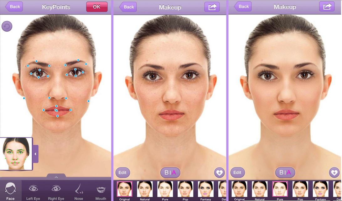 give your face a digital makeover with perfect365