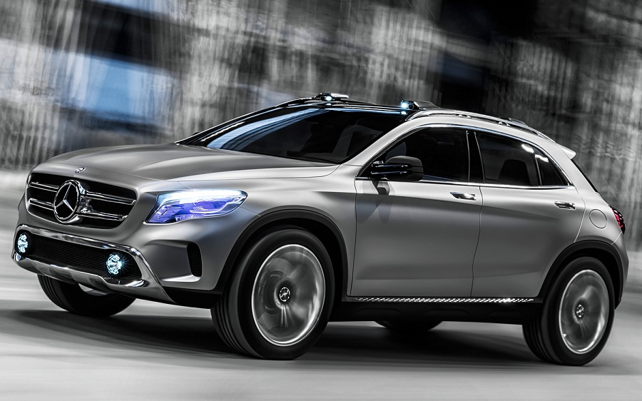 Mercedes benz finally play catch up with audi bmw in for Mercedes benz gla class india