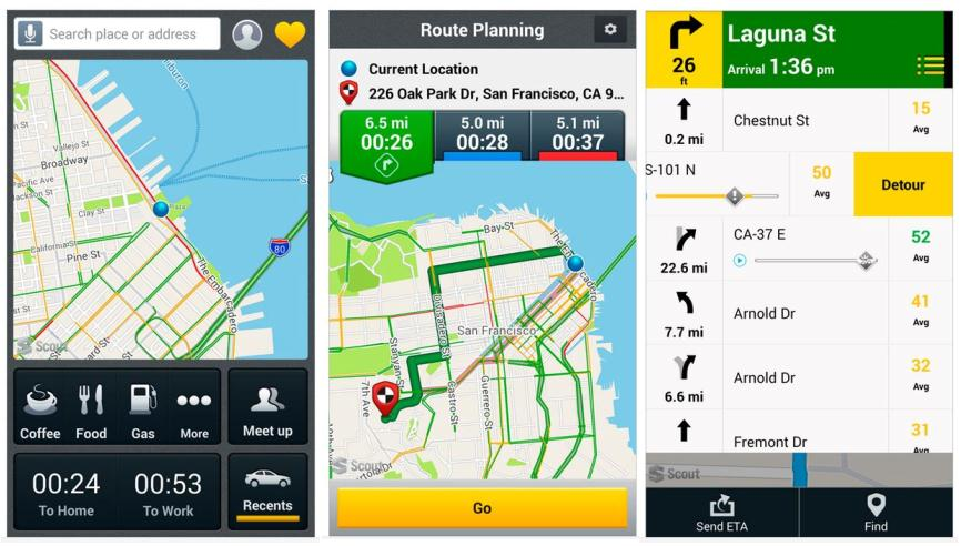 scout gps maps