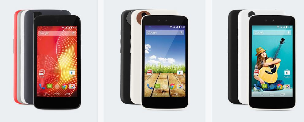 spice micromax karbonn android one