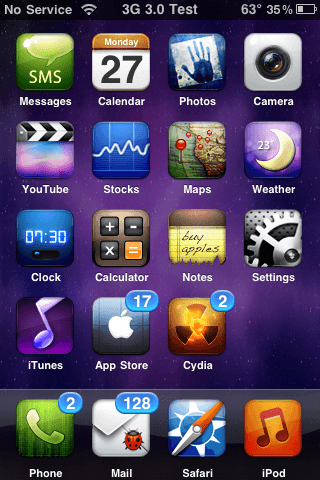 Winterboard customize iphone