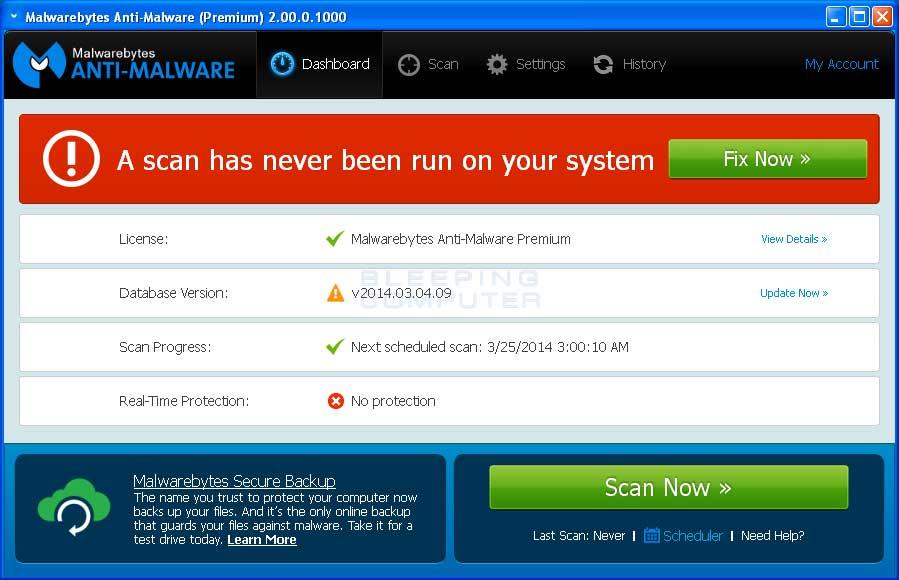 malwarebytes free tool to remove spyware and malware