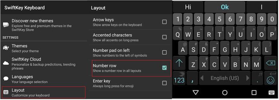 dba43cc0438 How to Add Numbers Row to Google Keyboard and SwiftKey Keyboard in ...