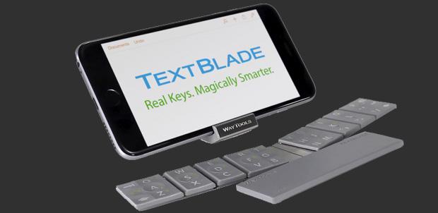 Text blade