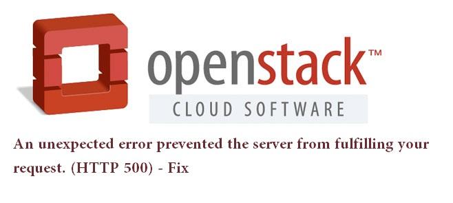 openstack error solution