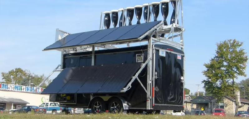 This Solar Power System Built for Social Cause – MobileMill from ...