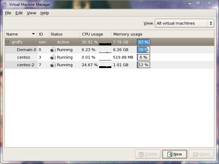 linux xen vm manager