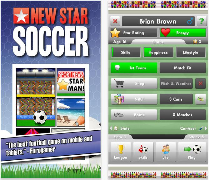 Soccer game ios