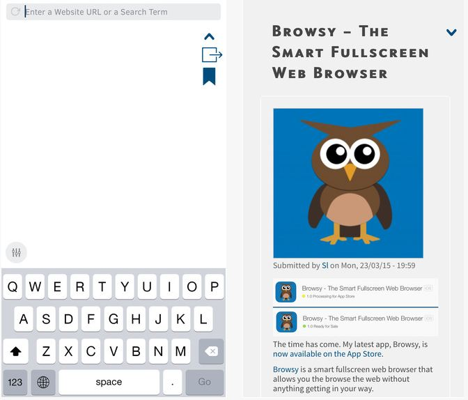 safe web browser for iphone