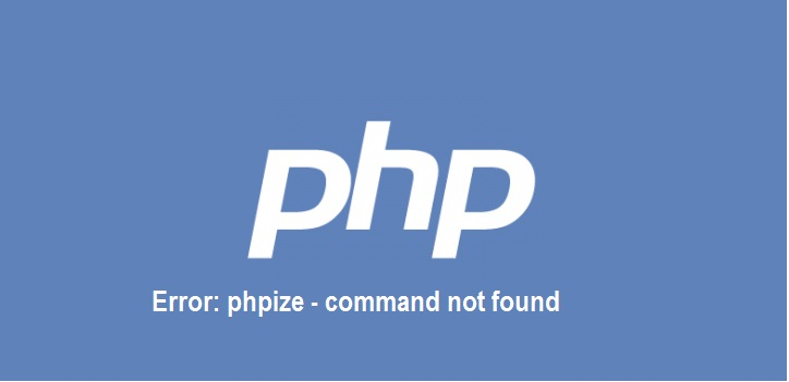 phpize command not found