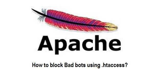 stop bad bots apache