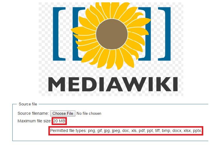 Mediawiki increase upload size