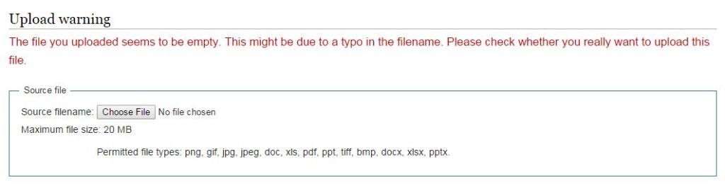 pdf upload error mediawiki