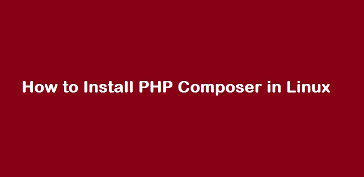 composer install php
