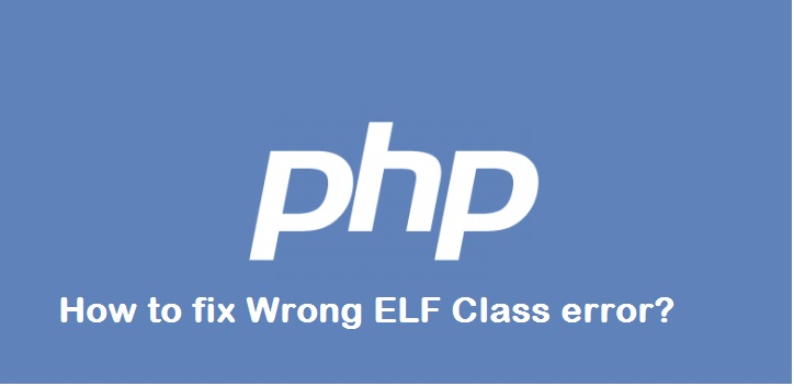 php dynamic library error