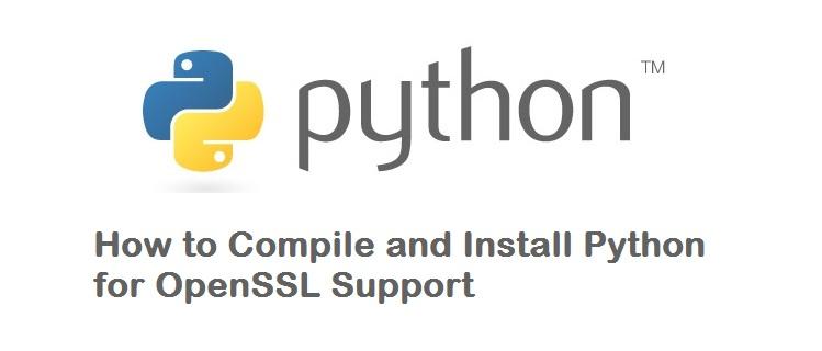 install python with ssl