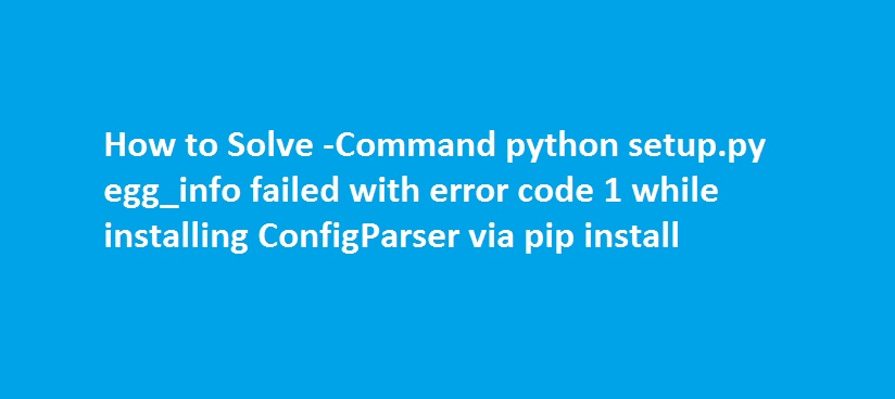 pip install invalid syntax