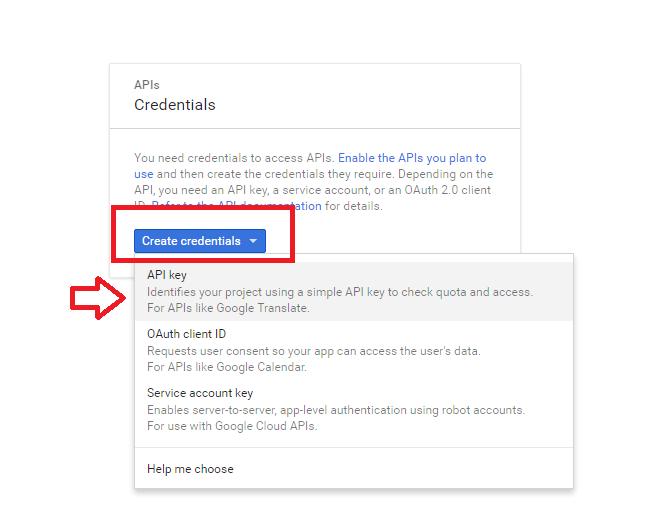 Get Youtube server key
