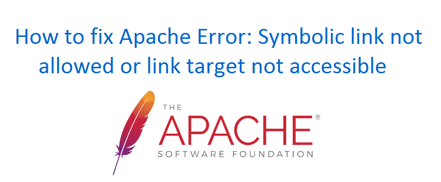 Apache Error: Symbolic link not allowed