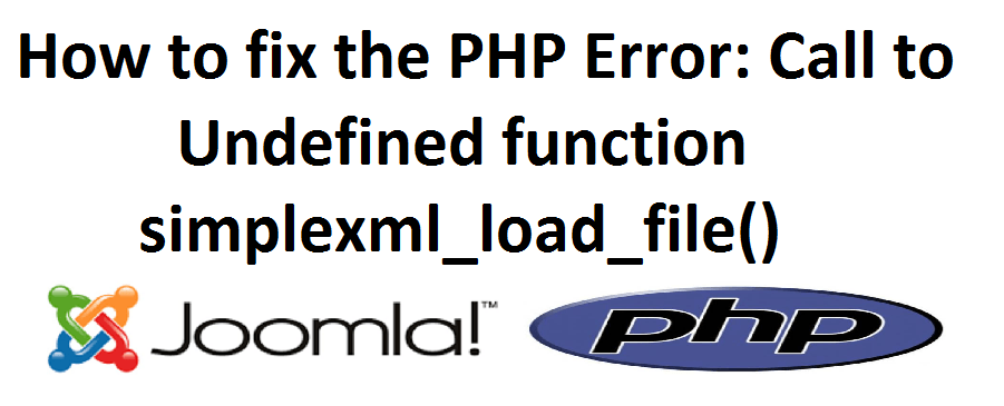 How to fix PHP error: call to undefined function
