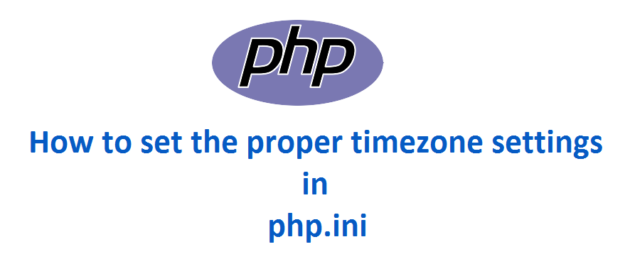 How to set timezone in PHP.ini