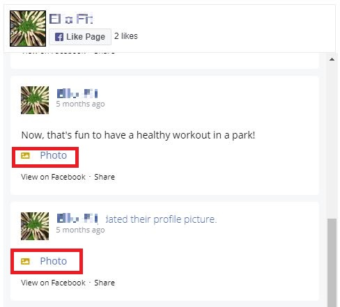 Custom Facebook Feed free