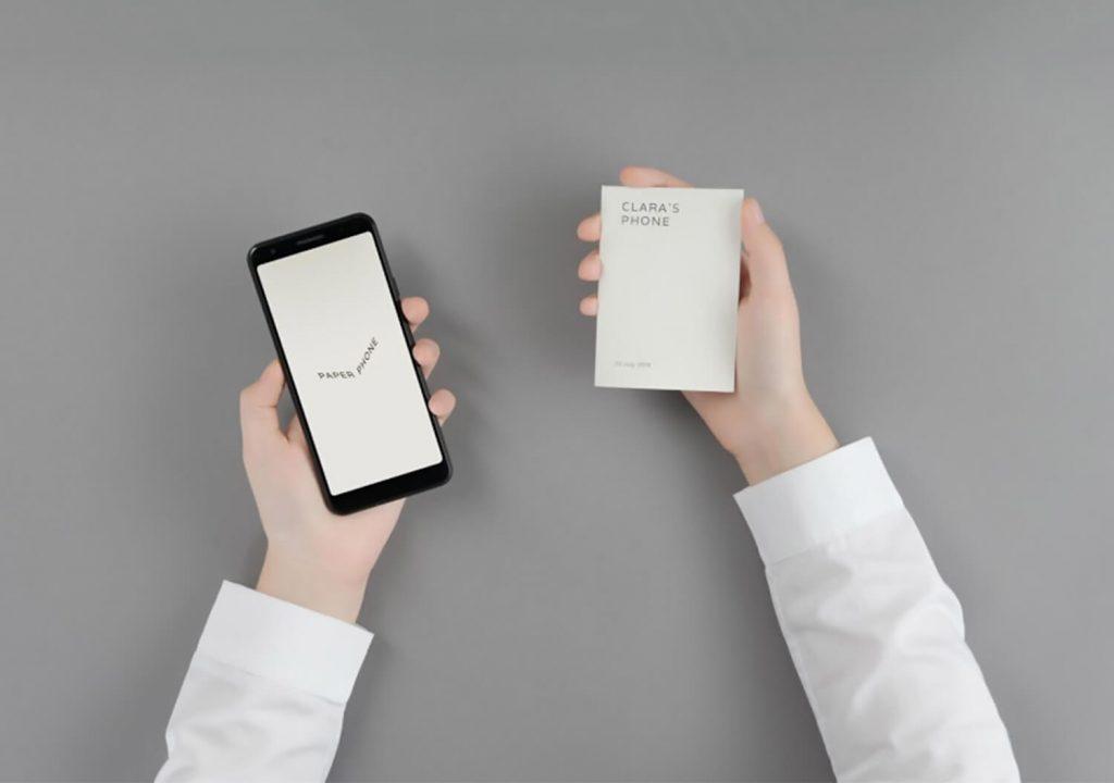 Paper Phone App