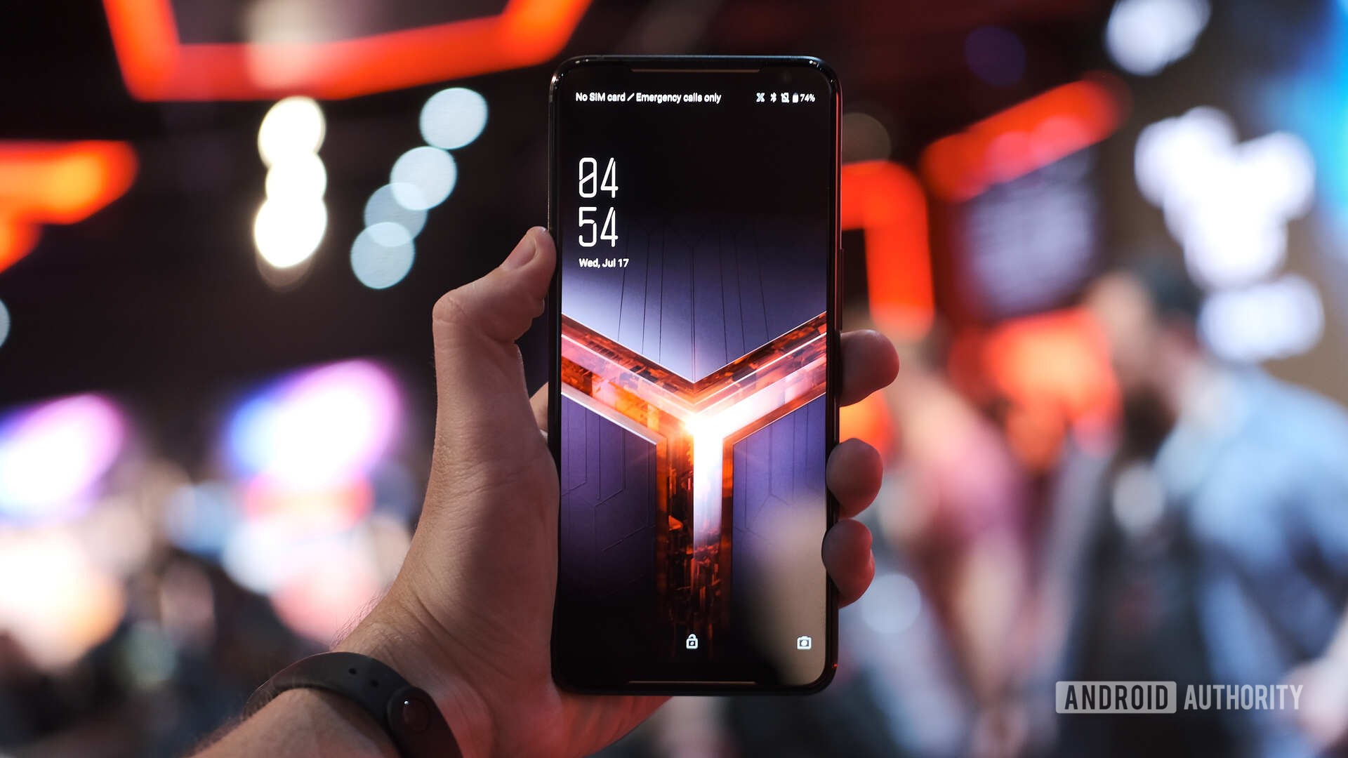 ROG phone 2 with 120Hz display