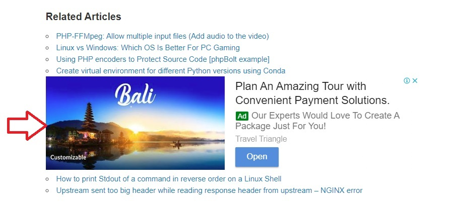 Adsense auto ads control placement position