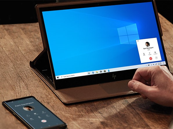 Make calls from Windows 10 directly with Android