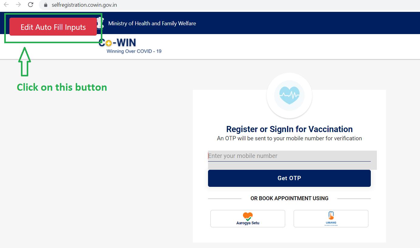 book covid-19 vaccination slot