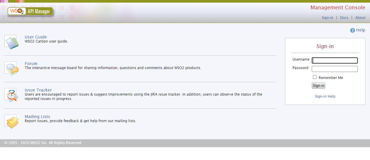 Installing WSO2 API Manager