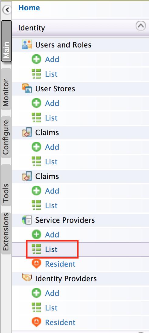 wso2 service providers